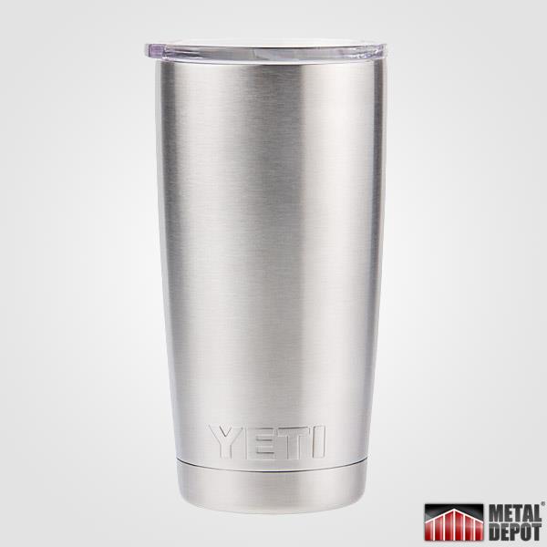 Powder Coated Yeti 20 Oz Tumbler With Custom Laser Etching