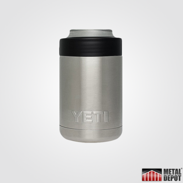Custom Powder Coated Yeti Colster With Laser Etched Logo