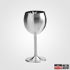 Powder Coated Stainless Steel Wine Glass (with Custom Laser Etching)