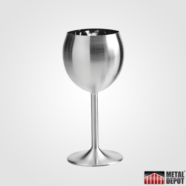 Powder Coated Stainless Steel Wine Glass Stemless