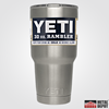 Personalized Powder Coated YETI 30 oz. Rambler (with Custom Laser Etching)