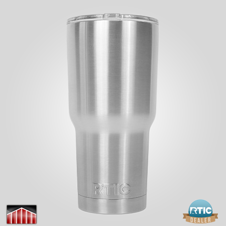 Powder Coated and Laser Etched RTIC 30 oz Tumbler
