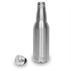 Stainless Steel Insulated Beer Bottle With Laser Etching and Powder Coating Personalization