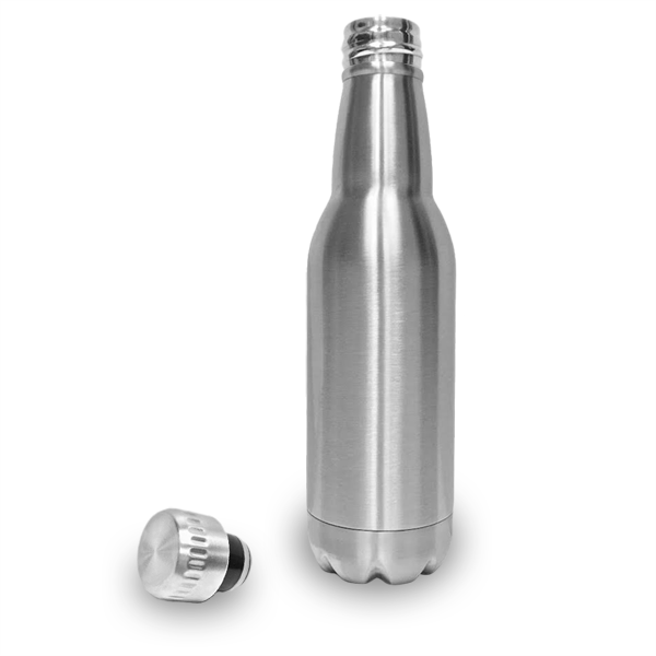Stainless Steel Insulated Beer Bottle With Laser Etching