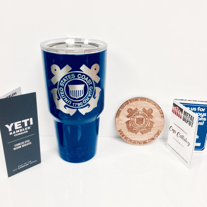 467a5cb07b4 ... Personalized Powder Coated YETI 30 oz. Rambler (with Custom Laser  Etching) ...