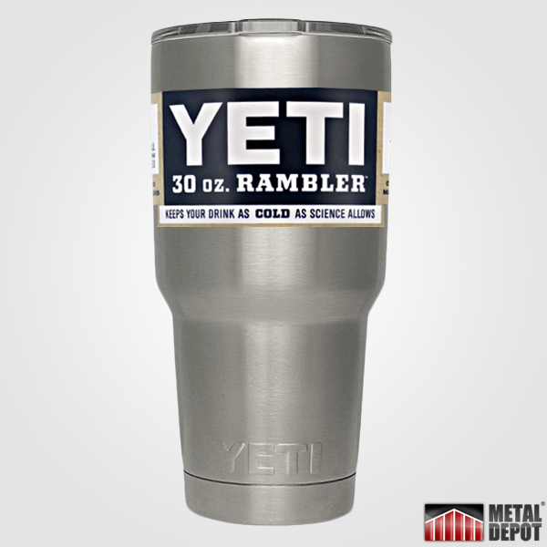 Personalized Powder Coated Yeti 30 Oz Rambler Tumbler With Custom